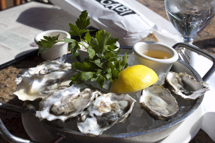 Oysters in Vegas