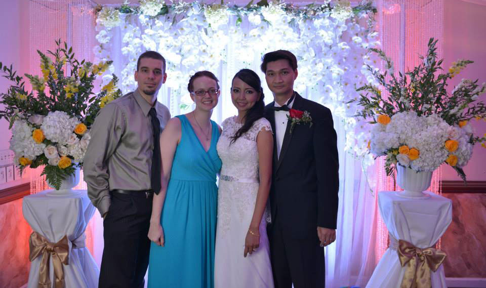 Jeff, myself, Aindra, and Hoan